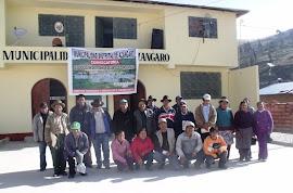 ELABORANDO PDC Y FACILITANDO PRESUPUESTO PARTICIPATIVO EN AZÁNGARO