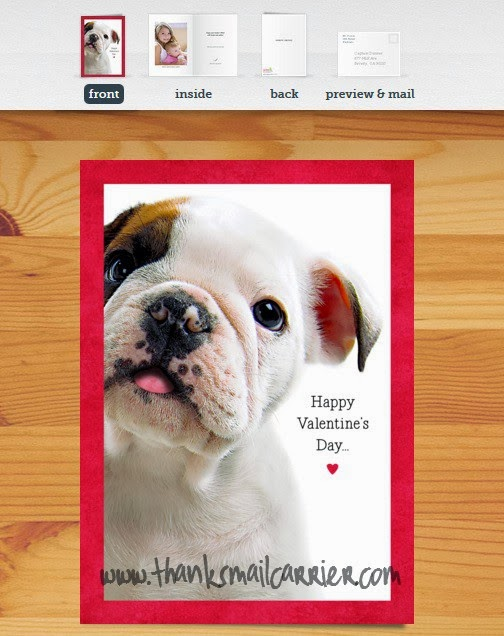 Cardstore puppy card