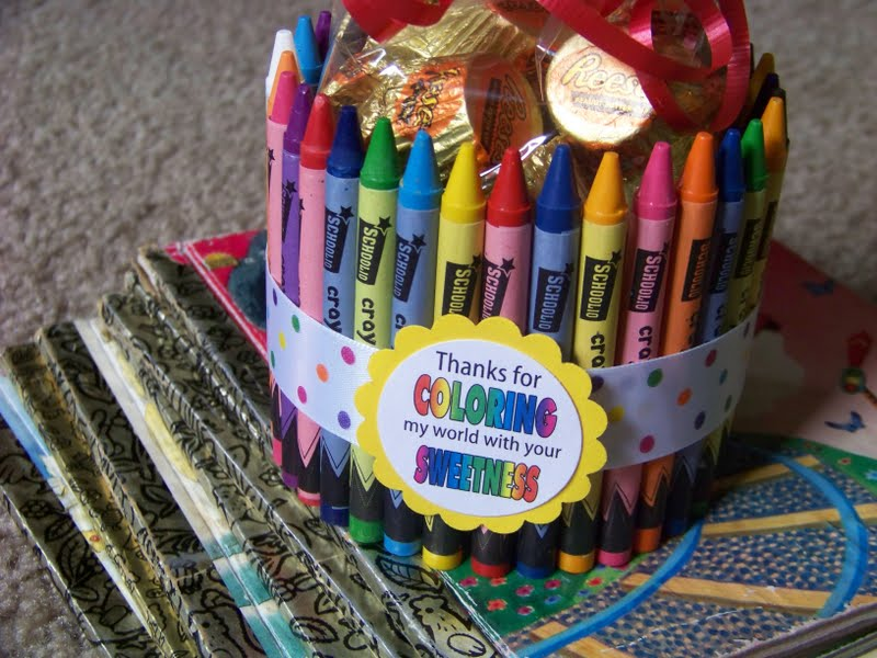 Color My World Thank You Gift   Everyday Parties