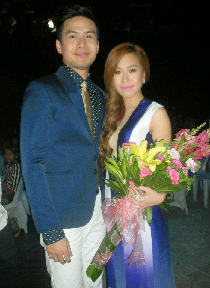 Christian Bautista and Rachelle Ann Go