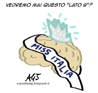 Miss Italia, 1942, satira, umorismo, vignetta