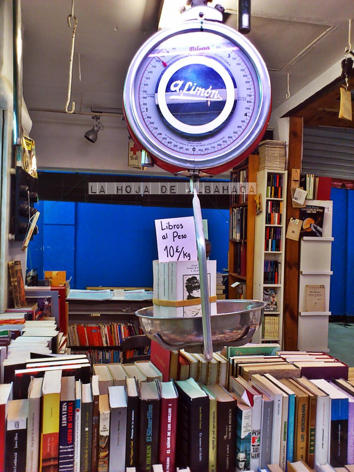 La Casquería, Madrid, Libros, Libros al peso