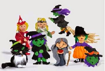 Wonderfully Wicked Witches sample witches