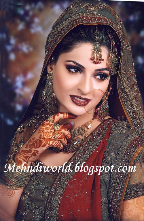 Mehndi Design Pictures Bridal Make Up Latest Bridal Wedding Dresses