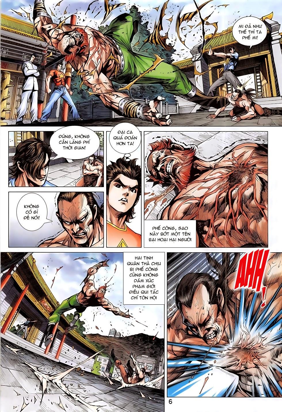 Tân Tác Long Hổ Môn chap 782 Trang 6 - Mangak.info