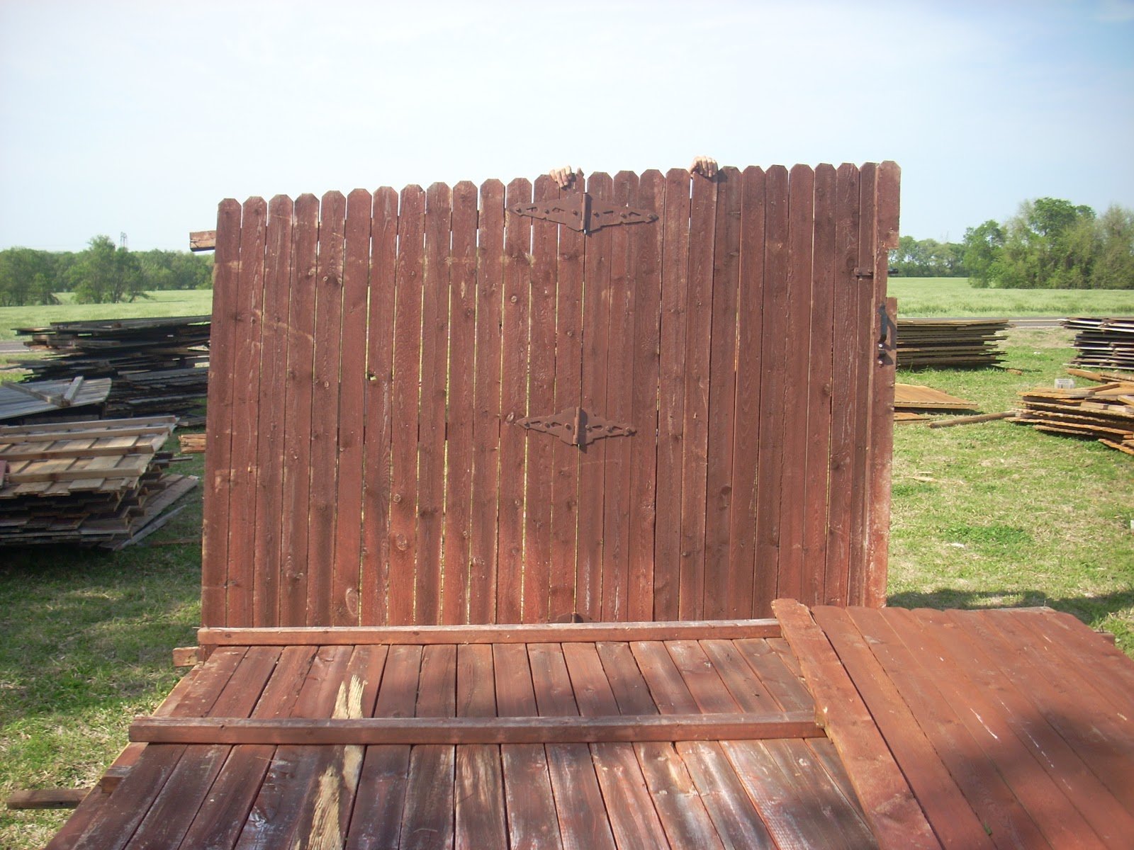 Superb img of Road Wood Fence Panels & Pickets Wylie Texas: GONE >>CEDAR!! Panel  with #2B74A0 color and 1600x1200 pixels