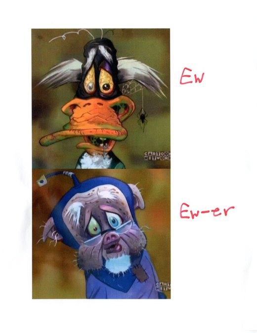 Ew, and Ew-er por lleviton