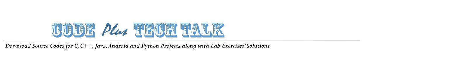 Code Plus Tech Talk