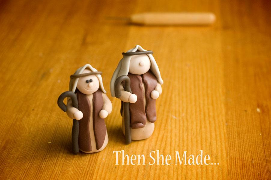 Then she made...: Nativity Tutorial
