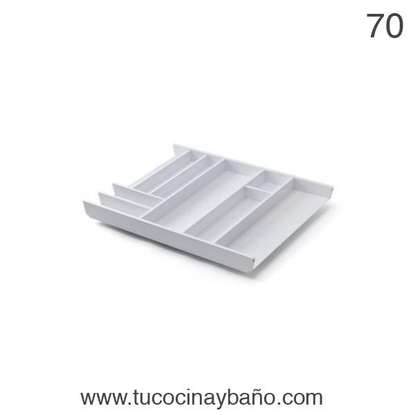 cubertero cajon cocina 70 blanco