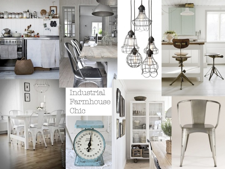 Tin Roof Farmhouse Monday Mood Board 3 Industrial Farmhouse Chic kitchen