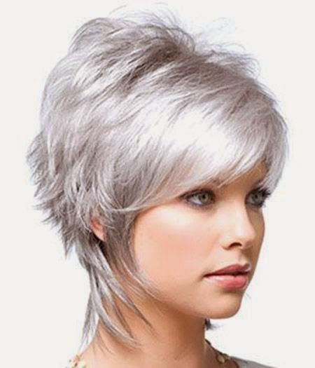 All about beauty short shag haircuts an easy wispy style that compliments oval square elongated and round facial shapes urmus Images