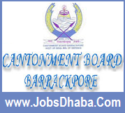 Cantonment Board Barrackpore Recruitment, Jobsdhaba.Com, Sarkari Naukri