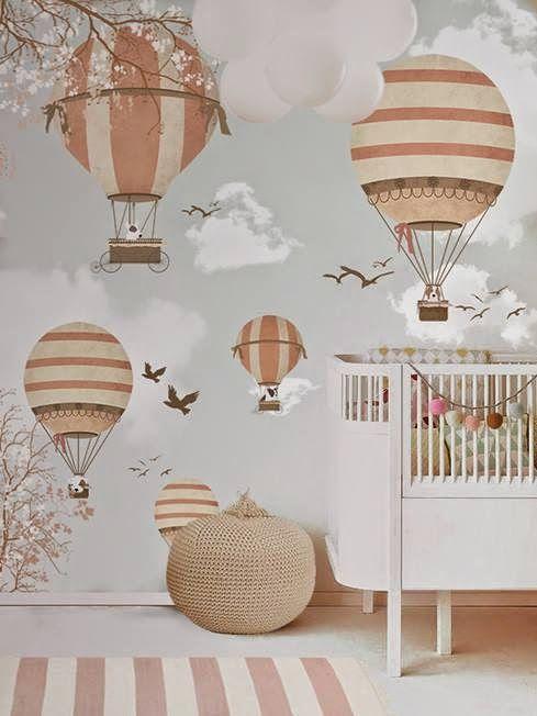 Fantazyjne tapety w pokoju dziecka studio barw wiat - Babyzimmer tapete ...
