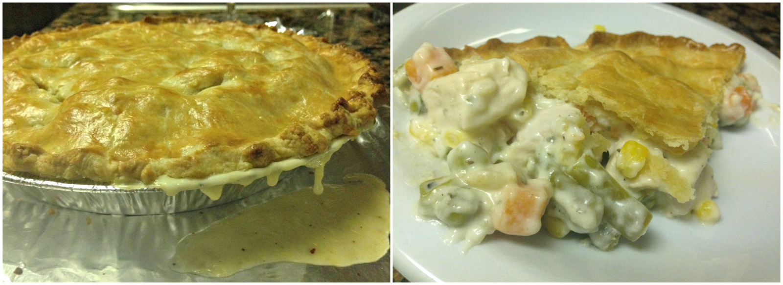 The Bargain Blonde: Deep Dish Chicken Pot Pie [Recipe]