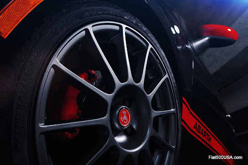 Fiat 500 Abarth Wheel