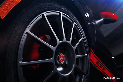 Fiat 500 Abarth Wheel