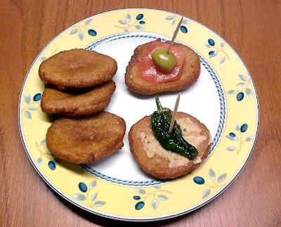 Fritos Veganos para Aperitvos.