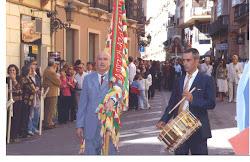 Bandera y tambor