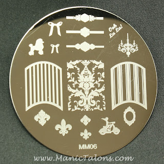 Messy Mansion Stamping Plate