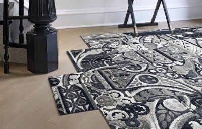 Pattern mixing, fun, rug