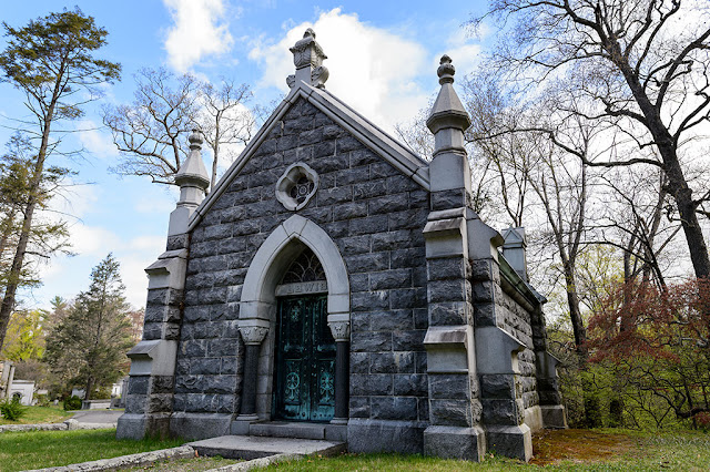 Mausoleum at Sleepy Hollow Cemetery