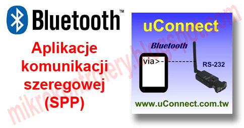 UconnectHex - Aplikacja terminalu Bluetooth SPP