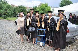 """La """"Cortul Bucuriei"""", cu colegele mele de la Didactică - FTOUB, 2012"""