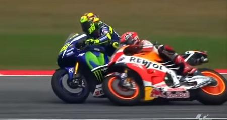 detik detik Rossi vs Marquez