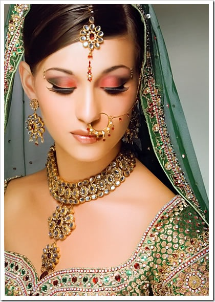 Indian Bridal Makeup Pictures All About House DressesBridal Make Up