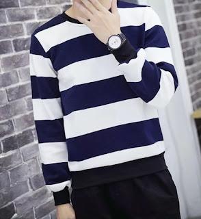 Sweater Korea Cowok Murah Terbaru Januari 2016
