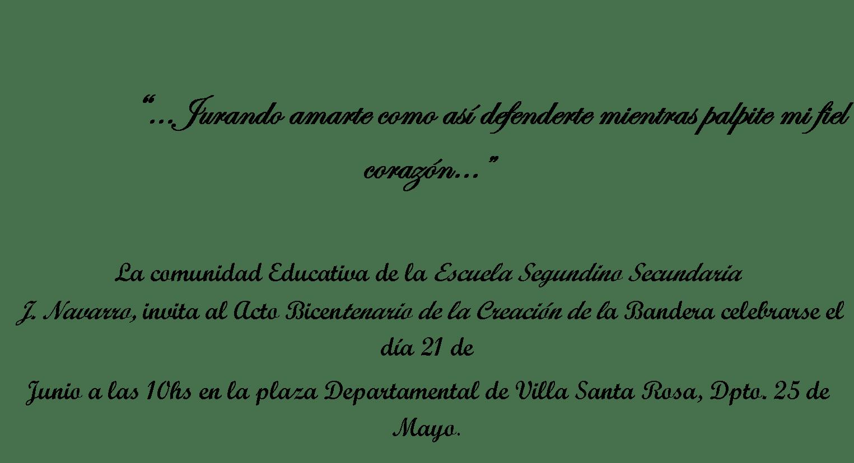 Tarjeta De Invitacion De Manuel Belgrano Para El Acto | MEJOR CONJUNTO