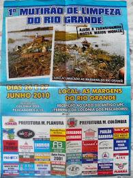 Limpeza do Rio Grande 2010