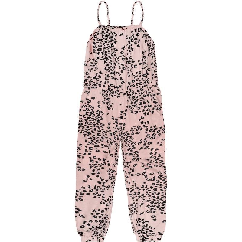 roosa leopardi jumpsuit
