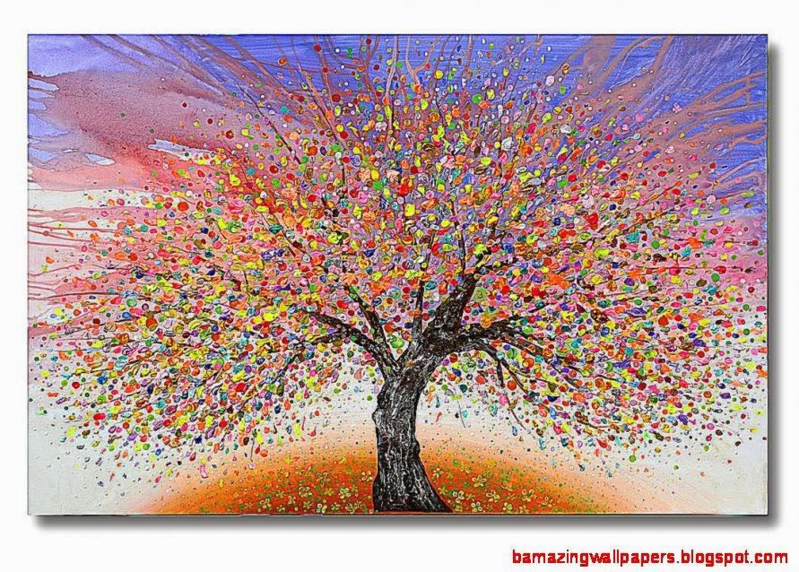 Abstract tree art by Julia Sadeh Buy art online