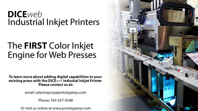 DICE™ Industrial Inkjet Printers and Presses