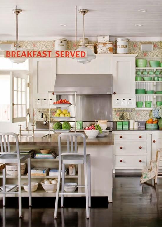 Cocinas con encanto meu canto blog - Cocinas pequenas con encanto ...