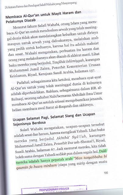 Buku Sejarah Berdarah Sekte Salafi Wahabi Menghina Hadits Nabi