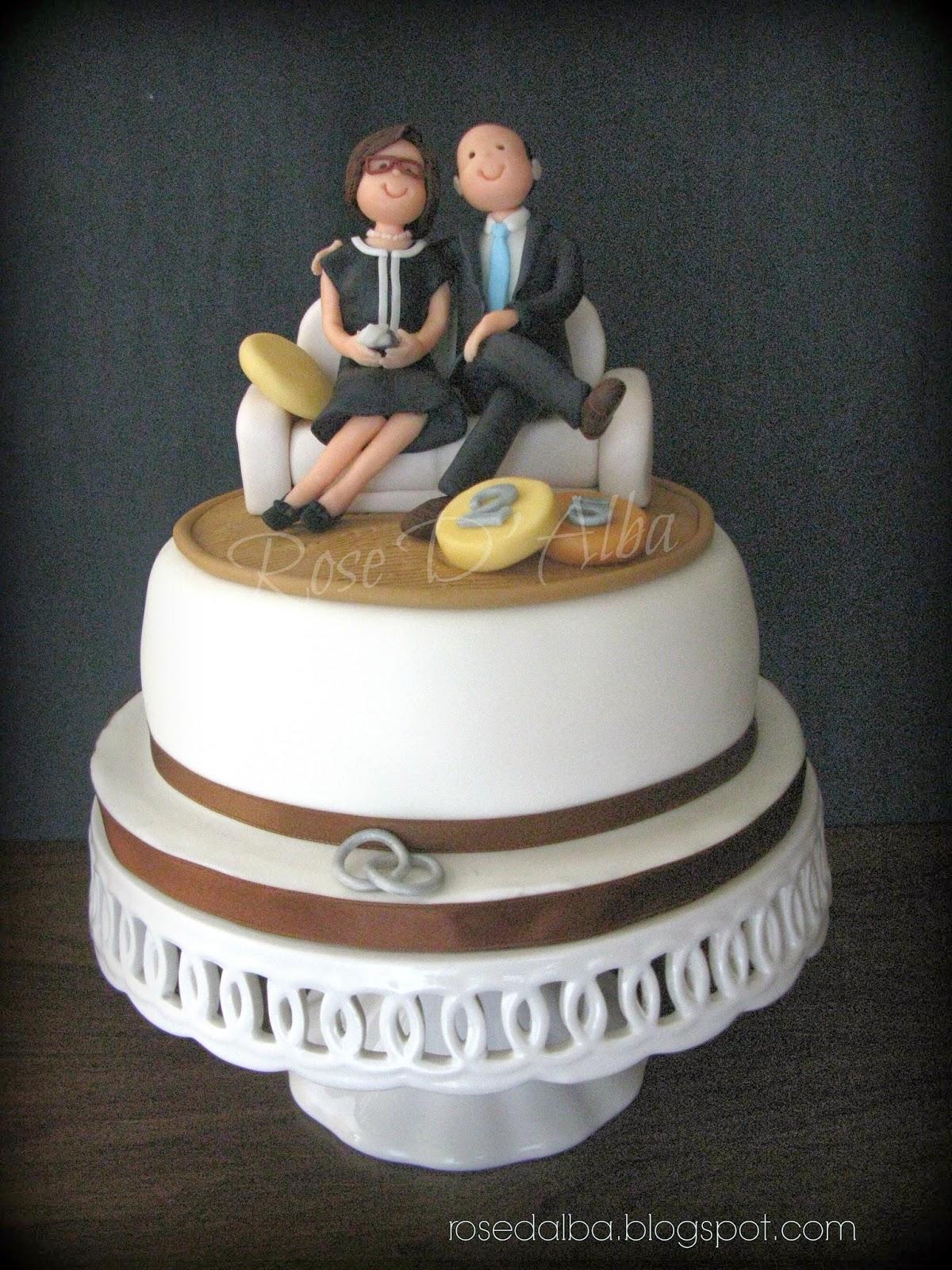 Torte per 20 anni di matrimonio