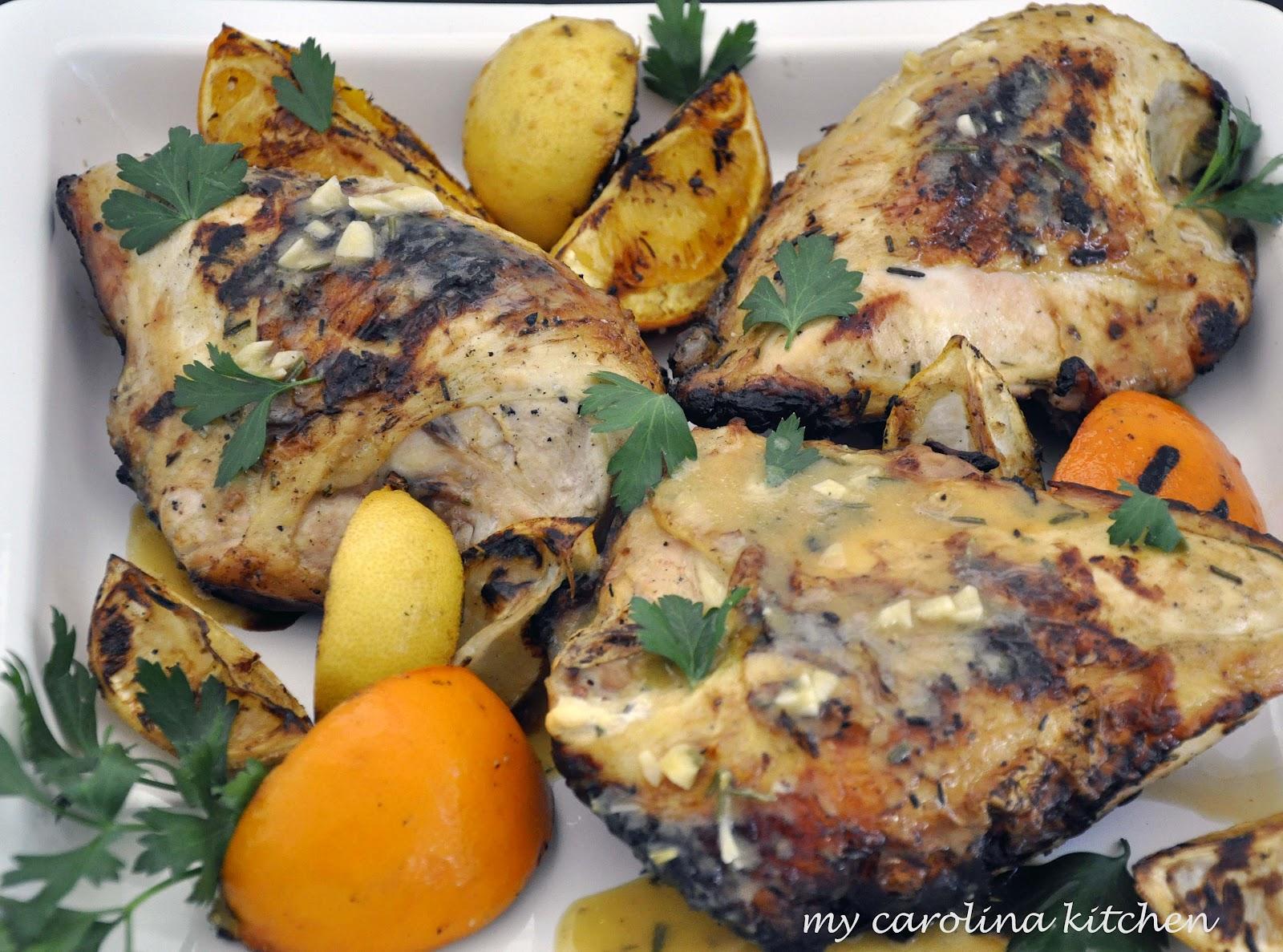 My Carolina Kitchen: Grilled Citrus Chicken Breasts Recipe