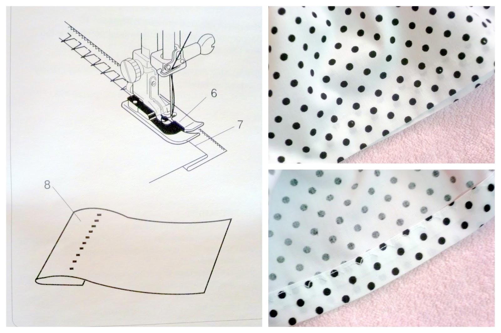 Как сделать потайной шов специальной лапкой