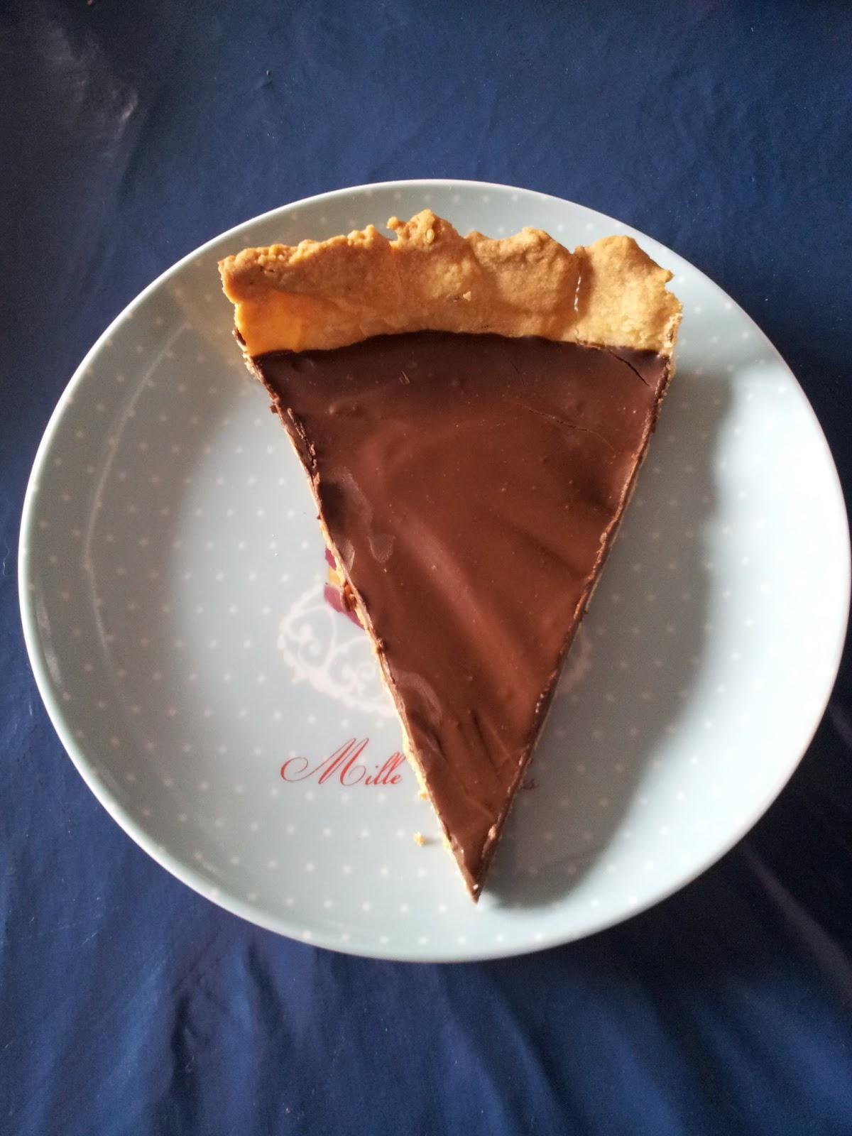 La cuisine de mimi tarte au chocolat sans oeufs - Tarte au chocolat sans oeuf ...