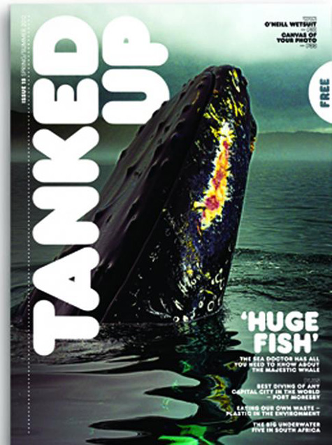 Tanked Up Whale Cover