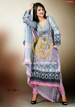 Pakistani Lawn Designs 2014