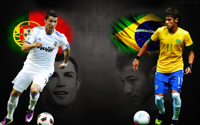 Foto Neymar vs Ronaldo 2013 2014 Wallpaper Kumpulan Foto Neymar (FC Barcelona) Terbaru Musim 2013 2014
