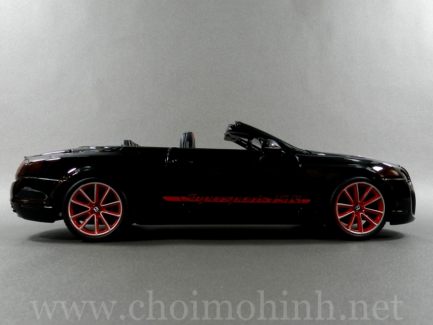 Bentley Continental Supersports Convertible ISR 1:18 bBurago side