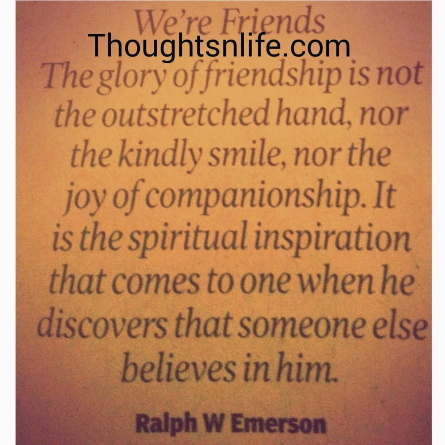 Quotes About Smile And Friendship We're Friends