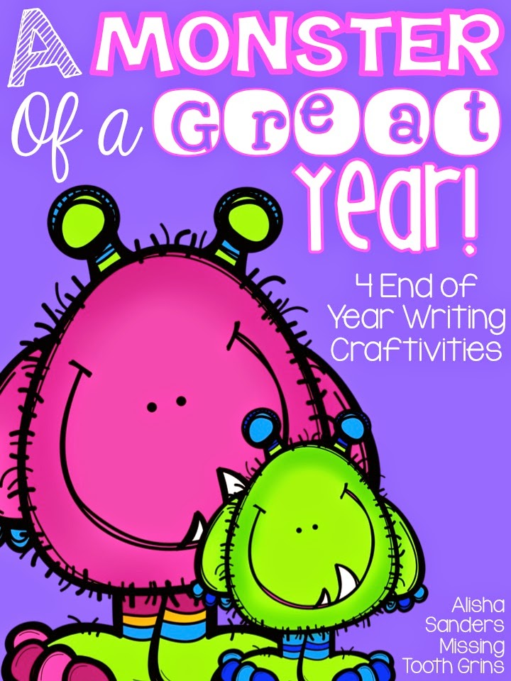 http://www.teacherspayteachers.com/Product/A-Monster-of-a-Great-Year-End-of-Year-Activities-1234358
