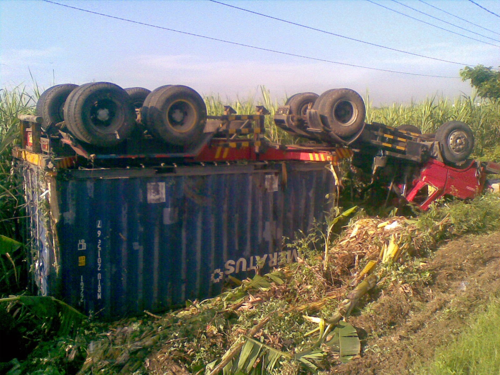 Kecelakaan di Jalur Pantura Pati Juana Purworejo Widoro Kandang