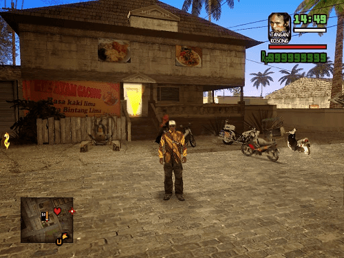 GTA San Andreas Extreme Indonesia Full Mod 2
